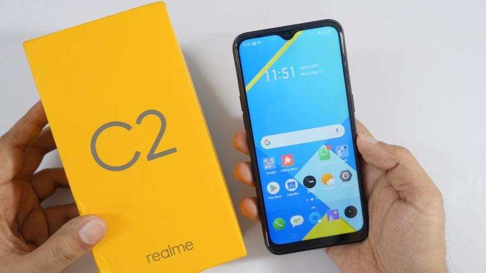 2. Realme C2, Rekomendasi Hp Murah Dan Canggih Tahun 2020